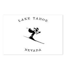 Lake Tahoe Nevada Ski Postcards (Package of 8)