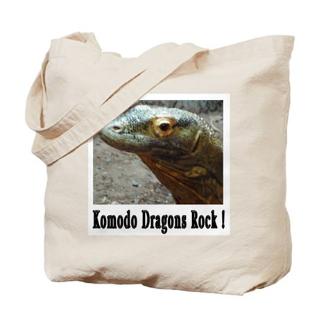 Komodo Dragons Rock ! Tote Bag