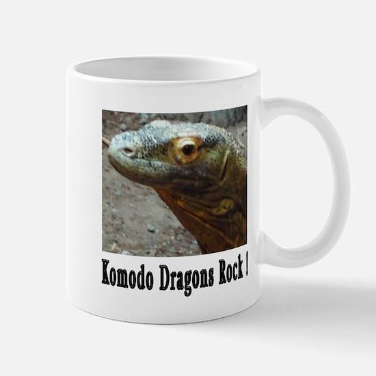 Komodo Dragons Rock ! Mug