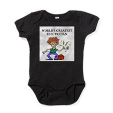 worlds greatest electrician Baby Bodysuit