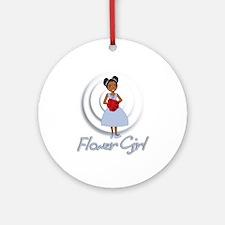 Lisa's Flower Girl Ornament (Round)