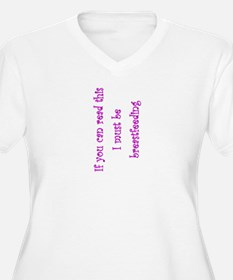 Must Be Breastfeeding (Girl) T-Shirt