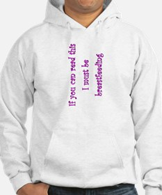 Must Be Breastfeeding (Girl) Hoodie