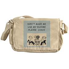 euchre Messenger Bag