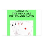 canasta queen Postcards (Package of 8)
