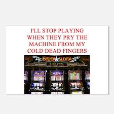 SLOTS player joke Postcards (Package of 8)