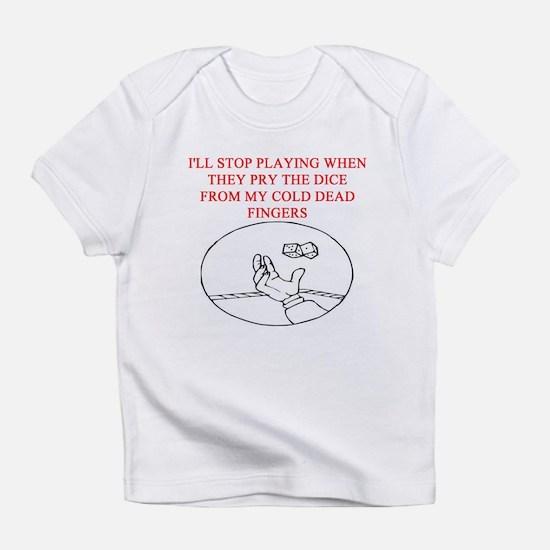 CRAPS joke Infant T-Shirt
