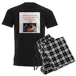 card game Men's Dark Pajamas