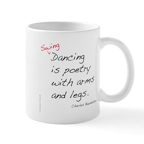 Baudelaire on Swing Dance Mug