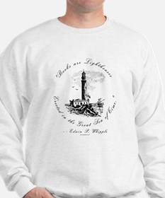 Books are Lighthouses<br> Sweatshirt