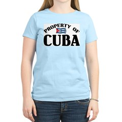 Property Of Cuba T-Shirt