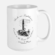 Books are Lighthouses<br> Mug