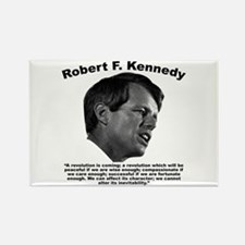 RFK: Revolution Rectangle Magnet