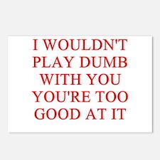 DUMB joke Postcards (Package of 8)