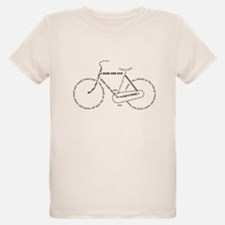 Black bike T-Shirt