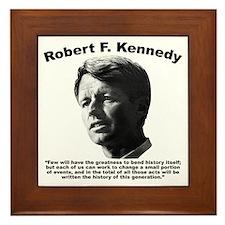RFK: Change Framed Tile