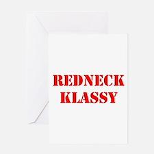 Redneck_Klassy Greeting Cards