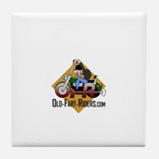 Old-Fart-Riders.com Tile Coaster