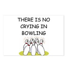 bowling gifts Postcards (Package of 8)