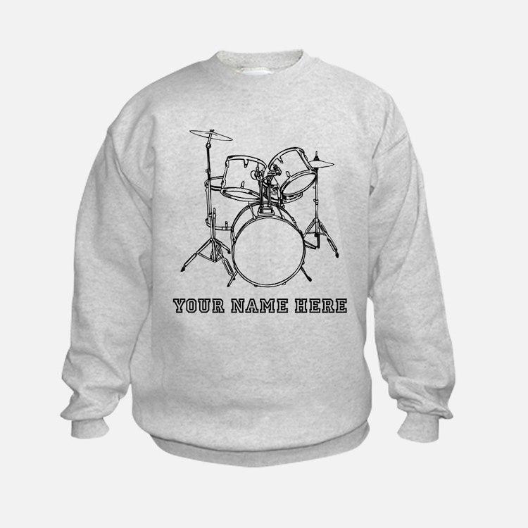 Custom Drum Set Sweatshirt