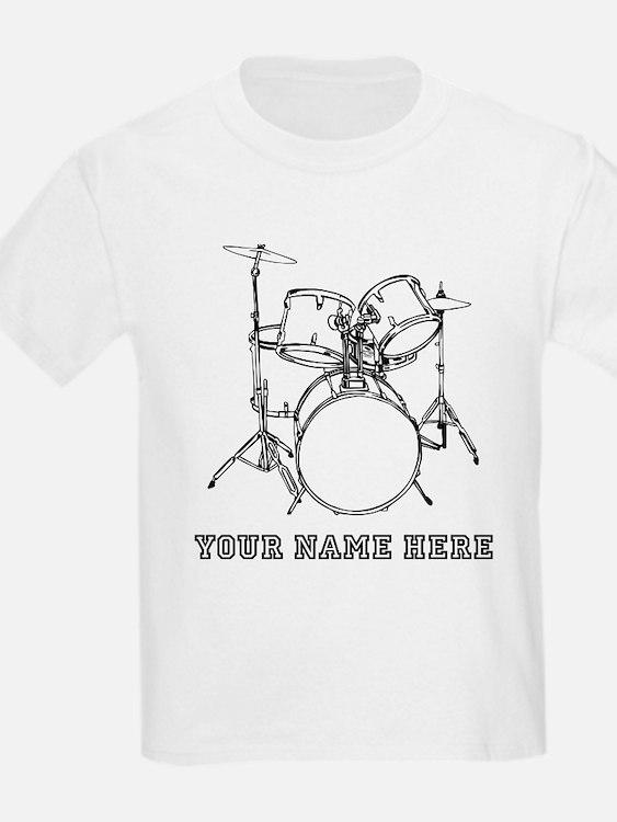 Custom Drum Set T-Shirt