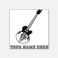 Custom Electric Guitar Sticker