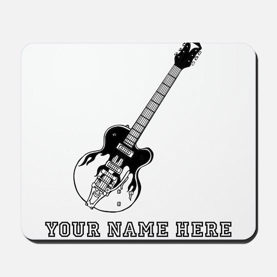 Custom Electric Guitar Mousepad