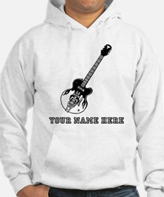 Custom Electric Guitar Hoodie
