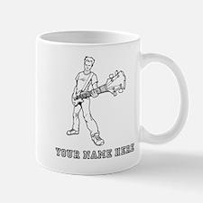 Custom Bass Guitar Player Mugs