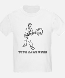 Custom Bass Guitar Player T-Shirt
