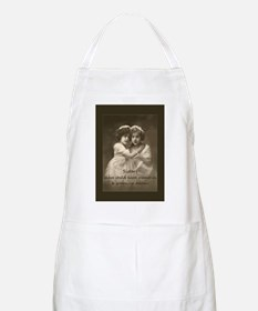 Sister Inspirational Quote Vintage girls Apron