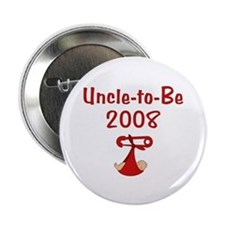 """Uncle-to-Be 2008 2.25"""" Button (10 pack)"""