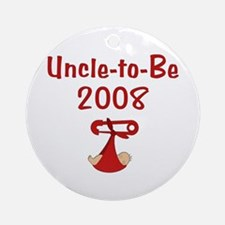 Uncle-to-Be 2008 Ornament (Round)