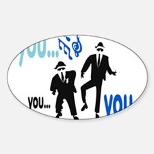 Dancing brothers Decal