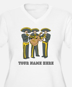 Custom Mariachi Band Plus Size T-Shirt