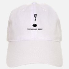 Custom Retro Microphone Baseball Baseball Baseball Cap