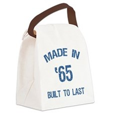 Made In 1965 Canvas Lunch Bag