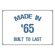 Made In 1965 Banner
