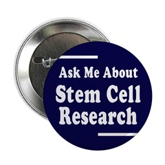 Stem Cell Research: Ask! Button (10 pack)