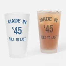 Made In 1945 Drinking Glass