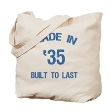 Made In 1935 Tote Bag