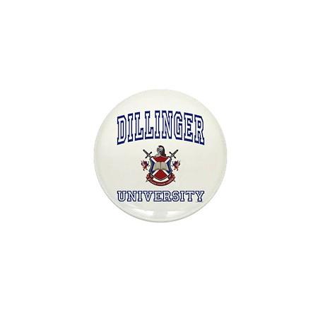 DILLINGER University Mini Button (100 pack)