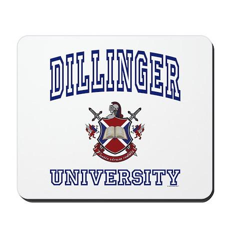 DILLINGER University Mousepad