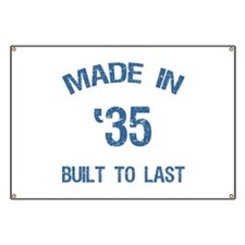Made In 1935 Banner