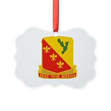 129 Field Artillery Regiment.psd. Ornament