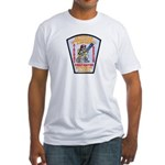 Ketchikan Airport Fire Fitted T-Shirt