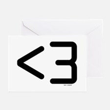 less than 3 Greeting Cards (Pk of 10)