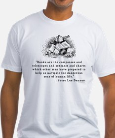 Books are the compasses<br> Shirt