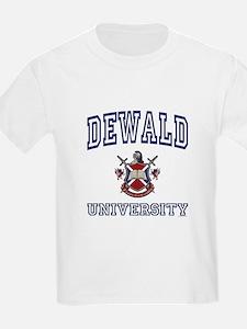 DEWALD University T-Shirt