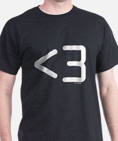 less than 3 T-Shirt